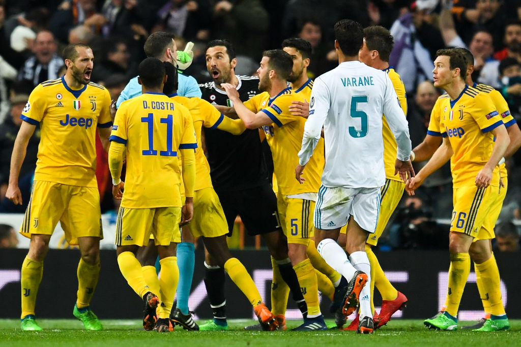 Real Madrid v Juventus -