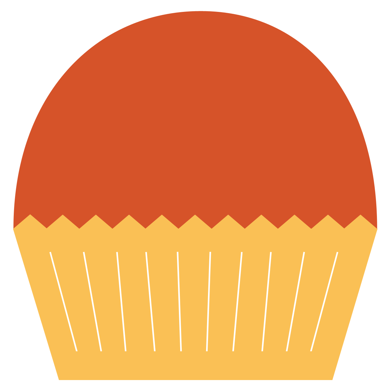 hight resolution of cinnamon cupcake clipart