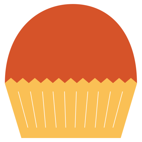 small resolution of cinnamon cupcake clipart