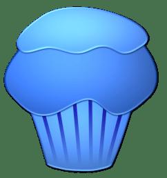 blueberry cupcake [ 1289 x 1453 Pixel ]