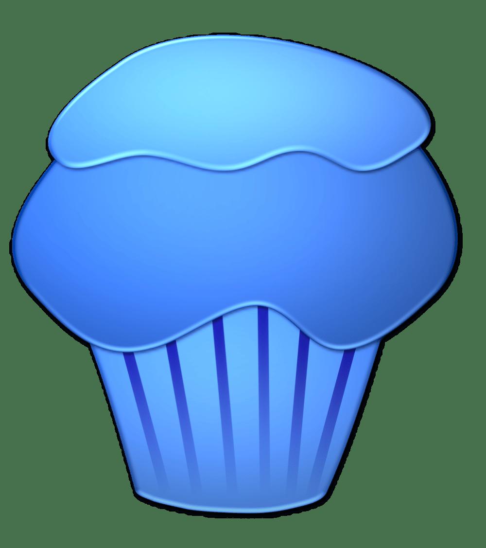 medium resolution of blueberry cupcake