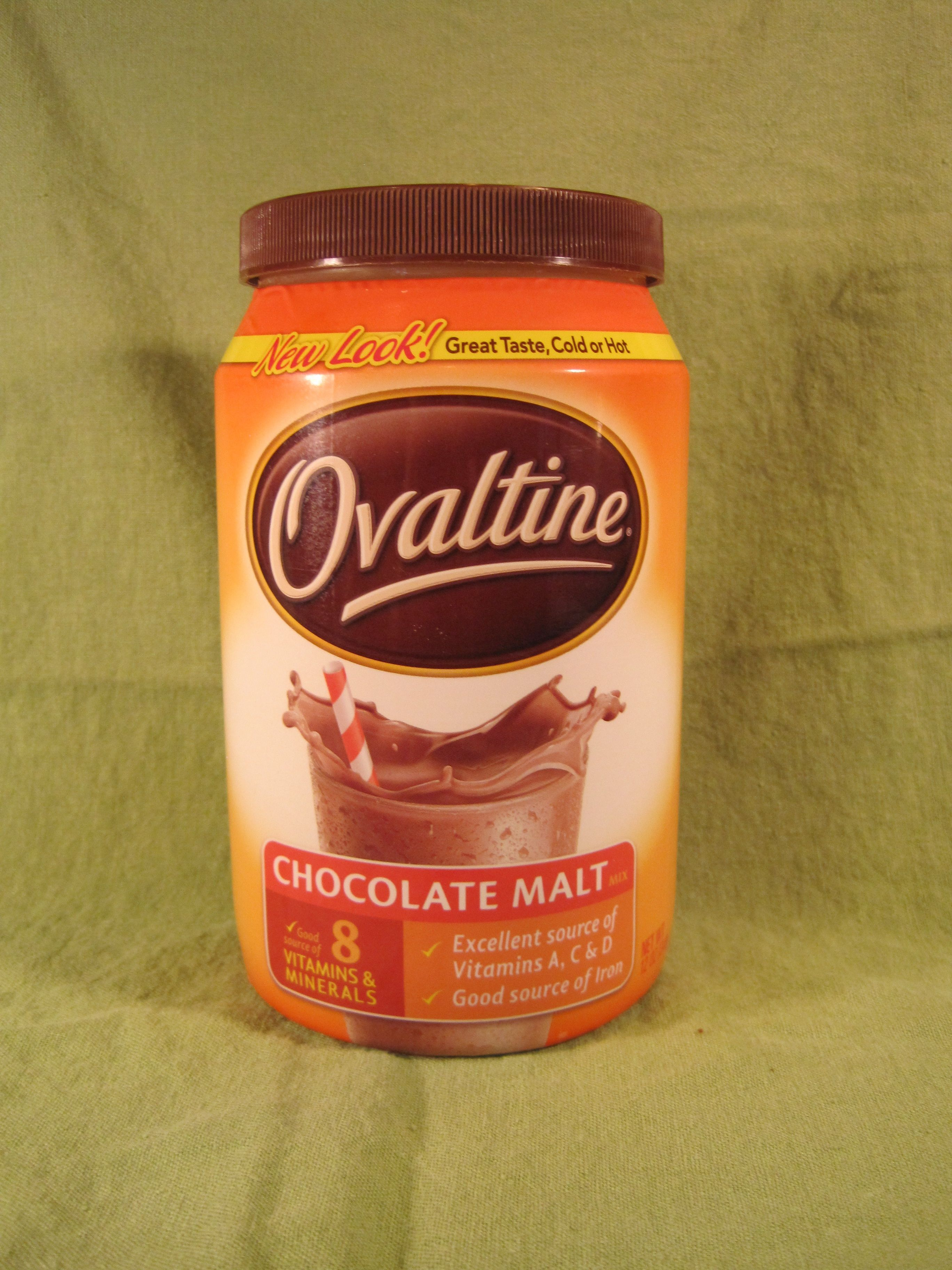 O is for Ovaltine  The Cupcake Addicts Cupcake Collection