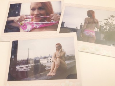 Rooftop Flowers NSFW Instax SOLD