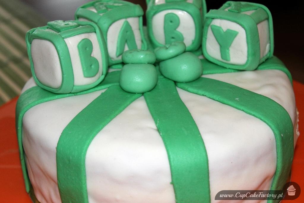 tort na baby shower