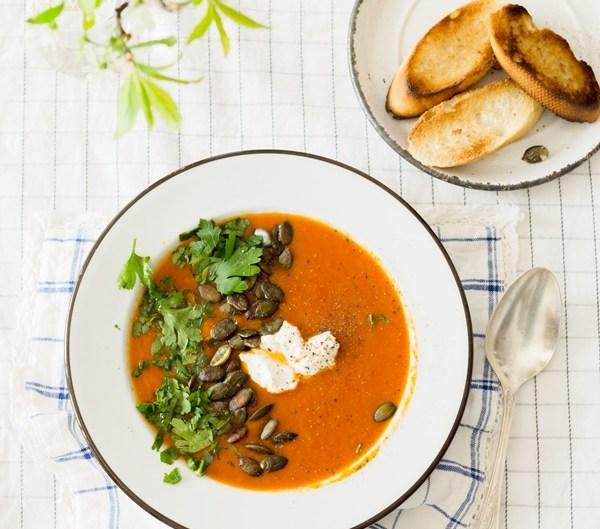 zupa pomidorowo-dyniowa