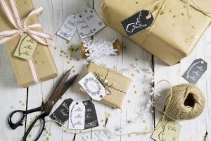 Etykietki na prezenty