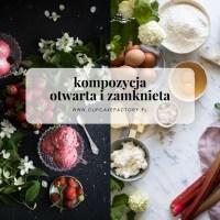 Kompozycja otwarta i zamknięta w fotografii kulinarnej