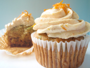 Ginger Zucchini Cupcakes