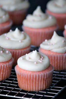 Pink Velvet Cupcakes