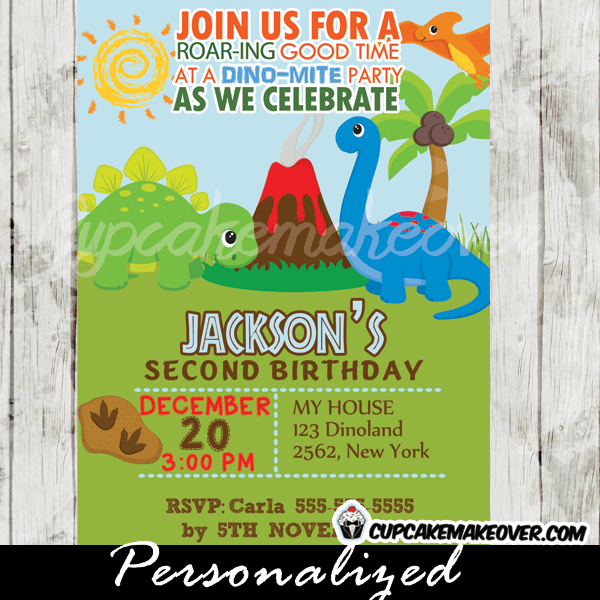 jurassic land dinosaur birthday