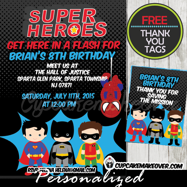 superhero boys archives cupcakemakeover