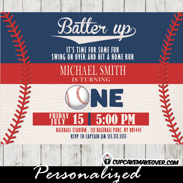 baseball birthday invitations baseball