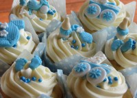 Baby shower cupcakes for a baby boy. Baby Boy cupcakes ...