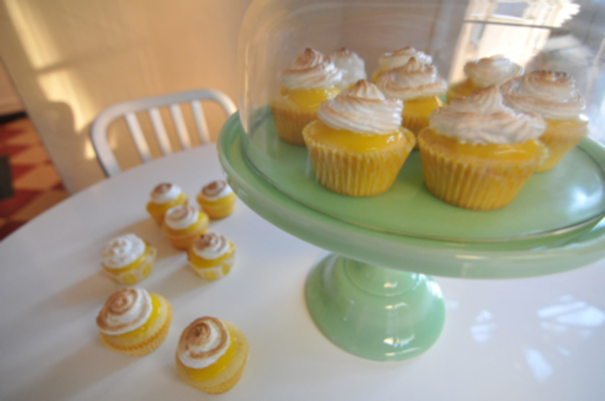 Lemon Meringue Cupcakes Martha Stewart
