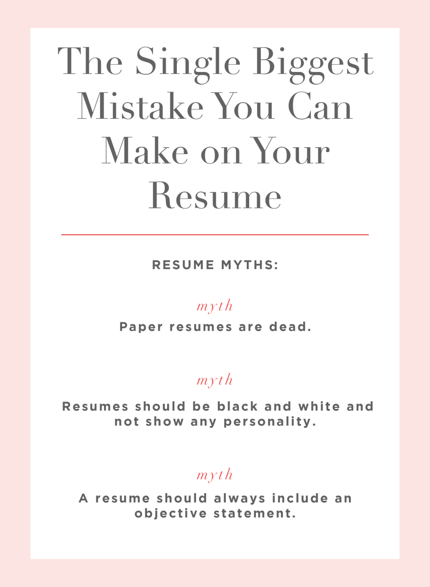 How To Make Resume Paper The Single Biggest Mistake You Can Make On Your Resume Cupcakes