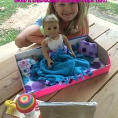 18 Doll Sofa Diy Retro Super Amart Craft An American Girl Made From A Recycled Cardboard Box You Www Cupcakesandlace Com