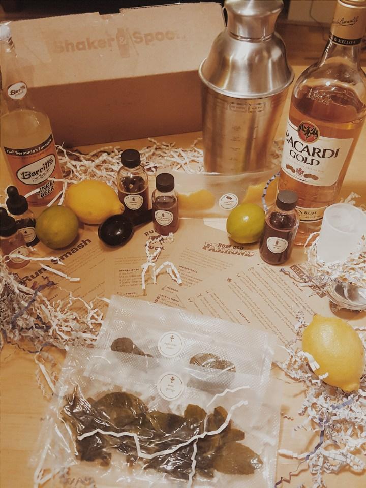 Amber Rum Box