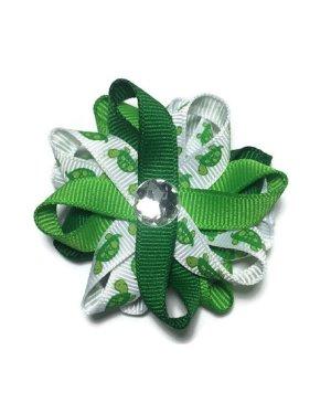 Green Turtles handmade Hair Bows