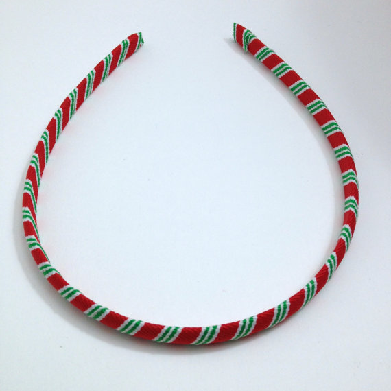 Christmas Stripe Headband