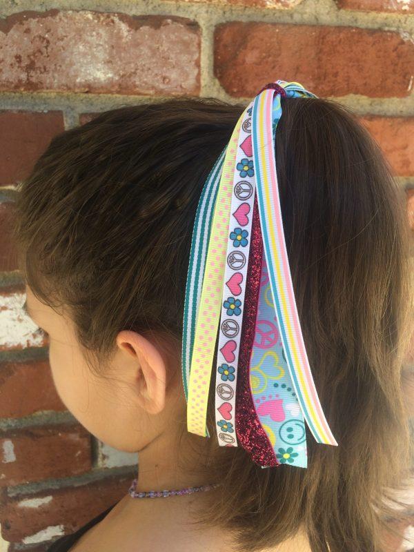 Handmade Pony-O Hair Streamers