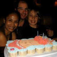 Bikini Cupcakes Cake