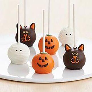 Кейк-попсы на Хэллоуин