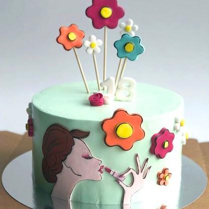 торт любимой девушке
