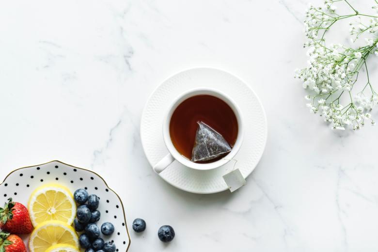 Tea Flat Lay