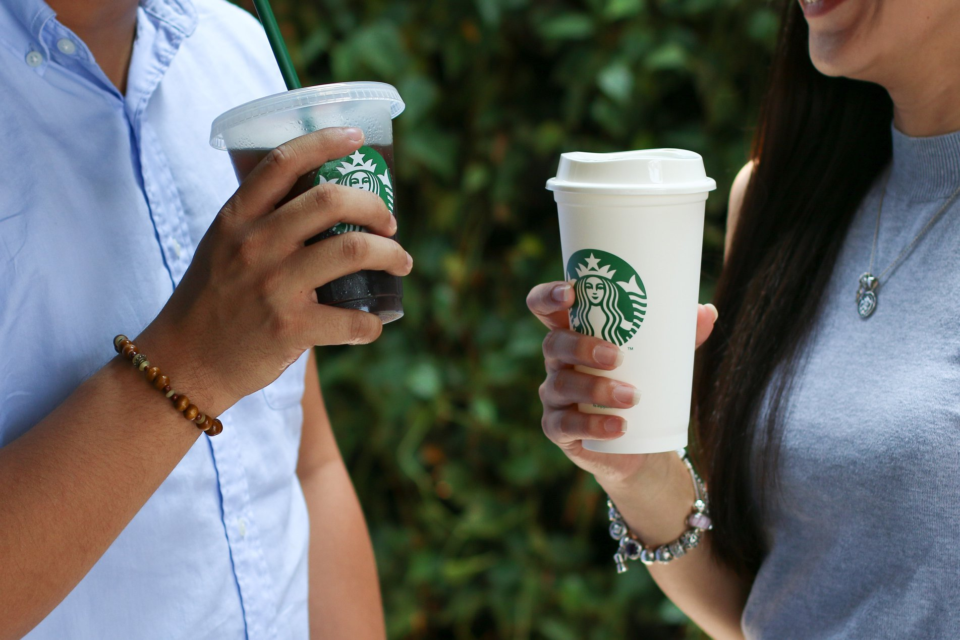 starbucks reusable cups