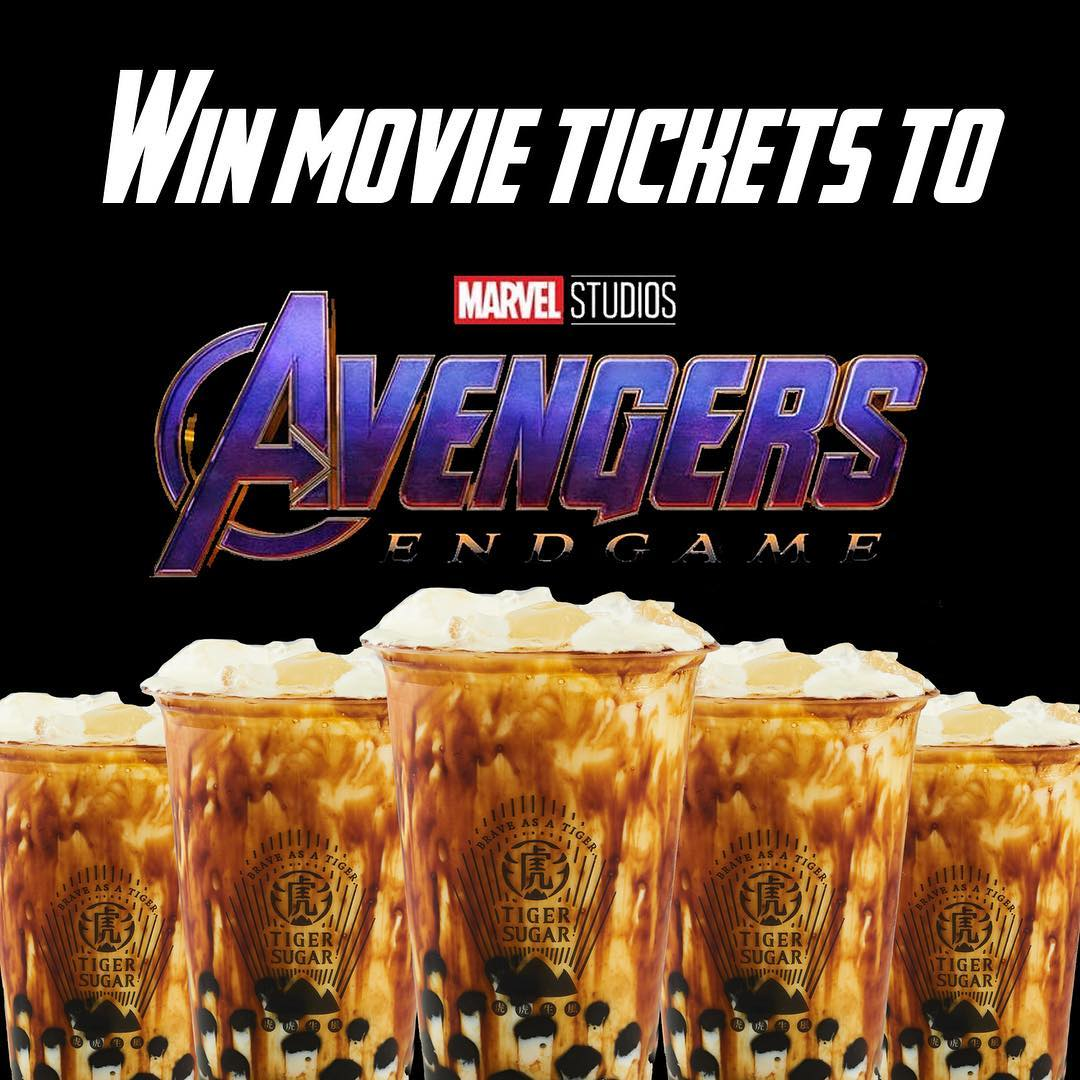 win movie tickets to avengers end game