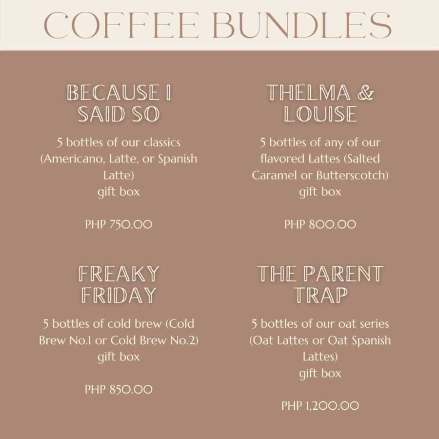 Coffee Bundles Price