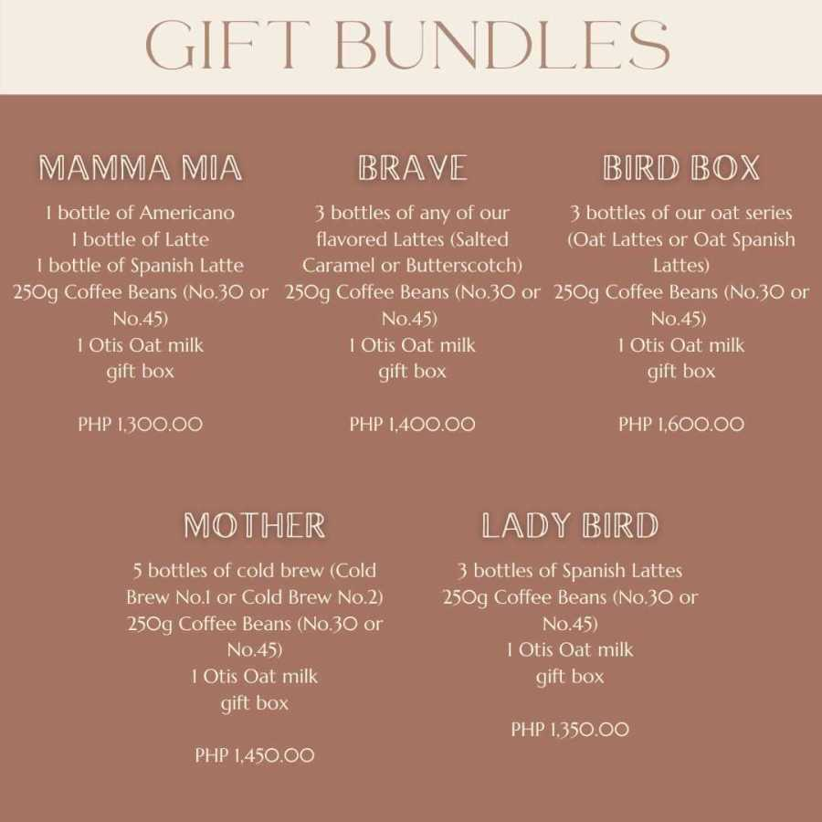 Coffee Gift Bundles Mothers Day Promo