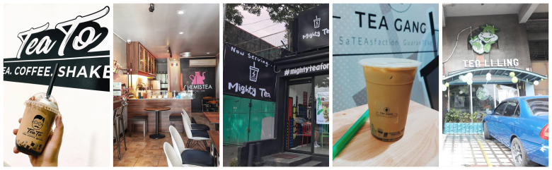 Top 5 Milk Tea Shops with Funny and Witty Name