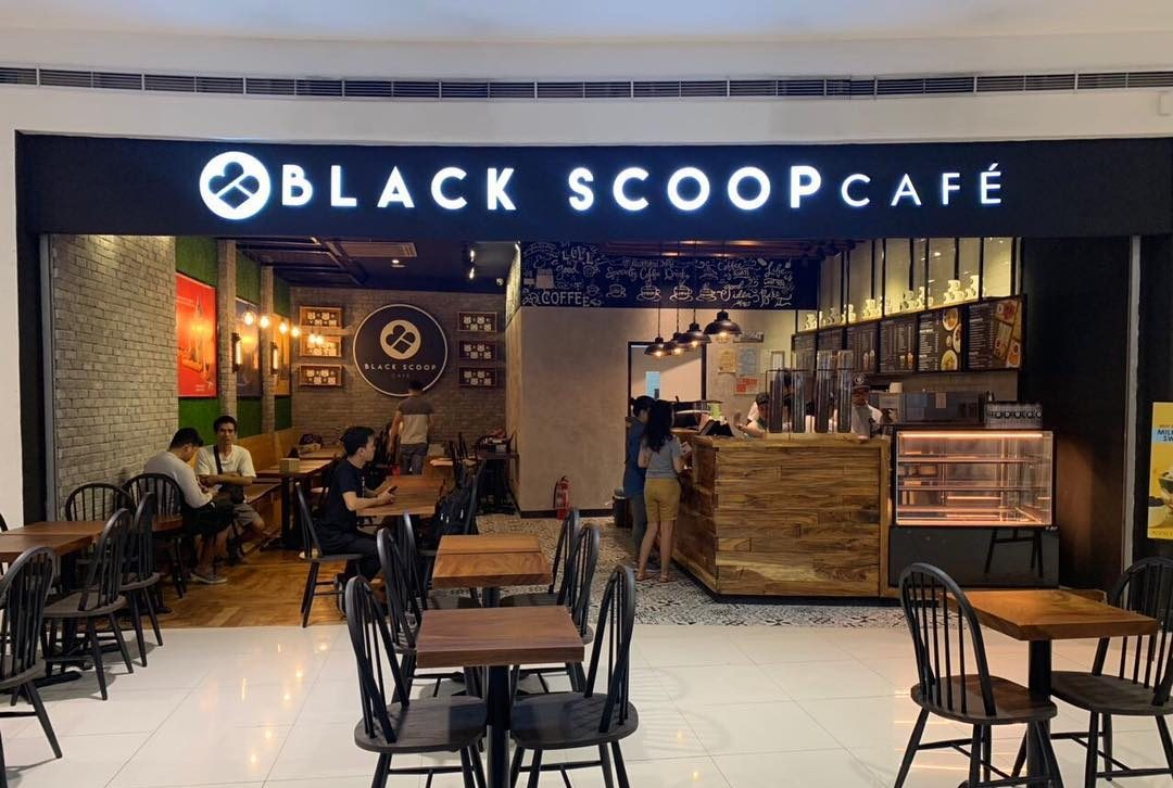 black scoop cafe sm north