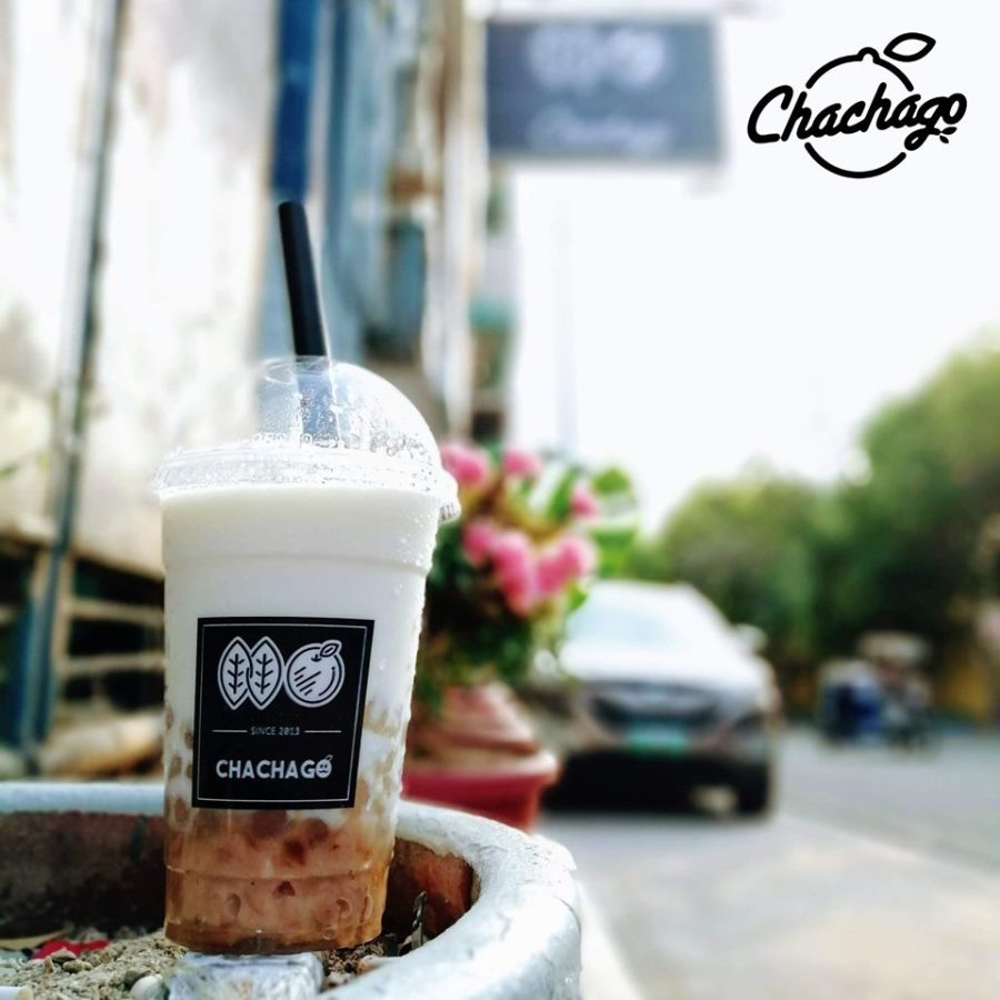 chachago taro with milk