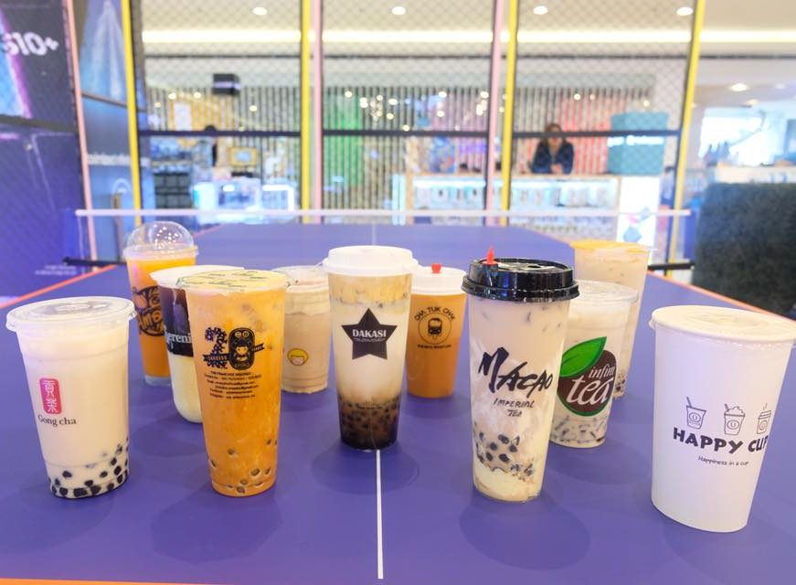 milk tea party at sm north edsa