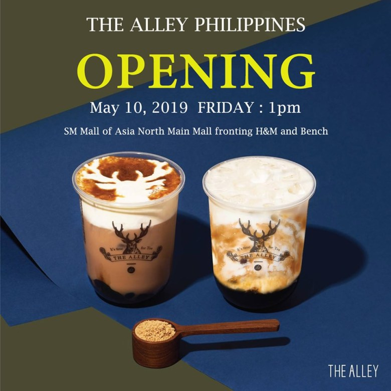 the alley philippines sm mall of asia