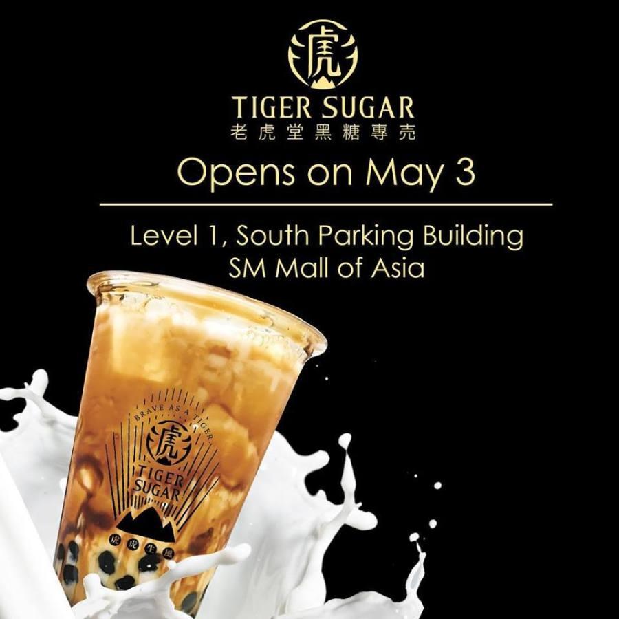 tiger sugar mall of asia