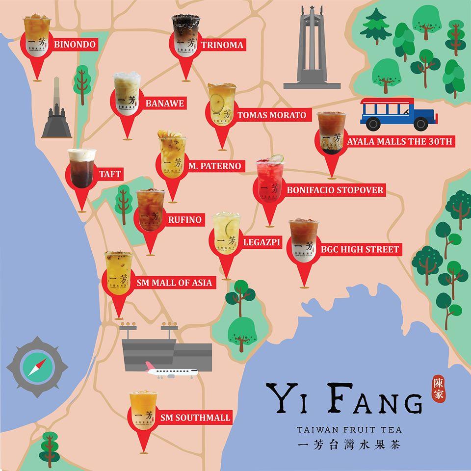 Yi Fang Branches