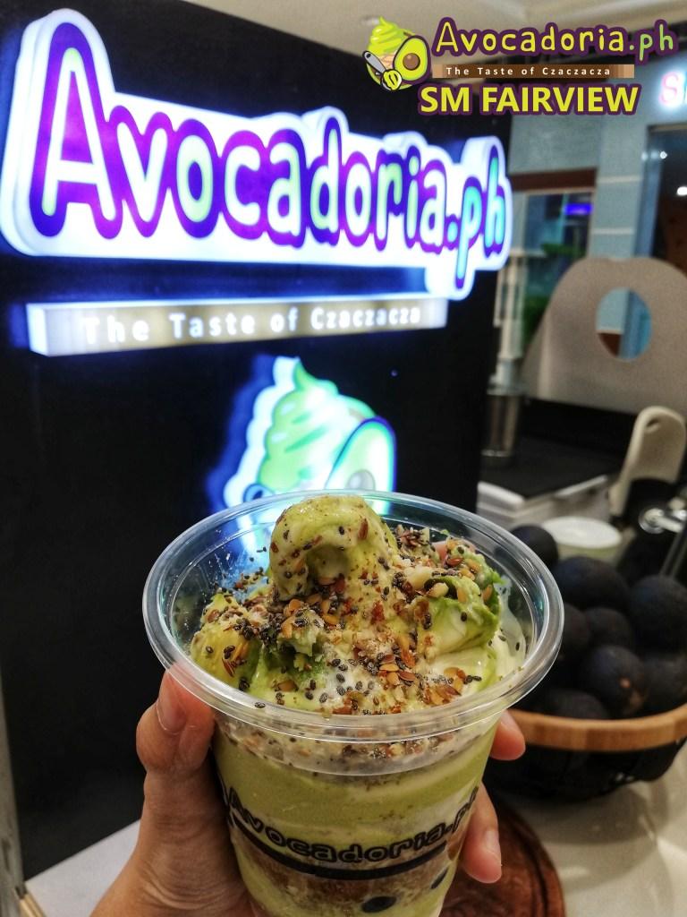 Avocadoria SM Fairview Avocado Lover Up Close