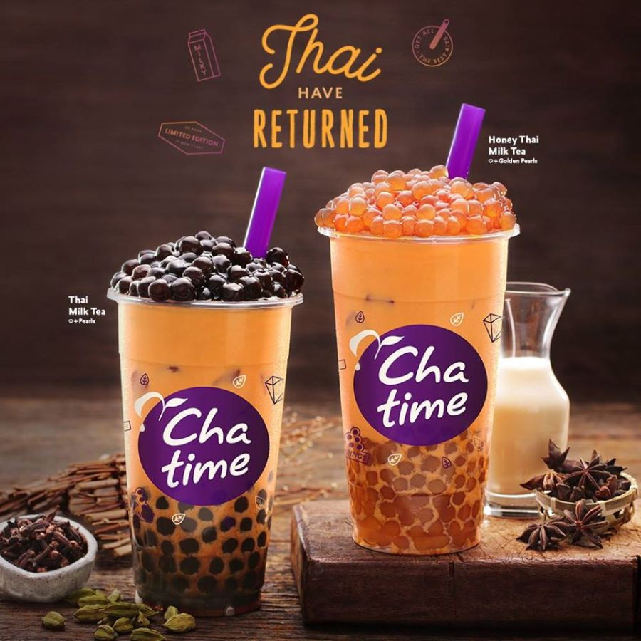 chatime thai milk tea
