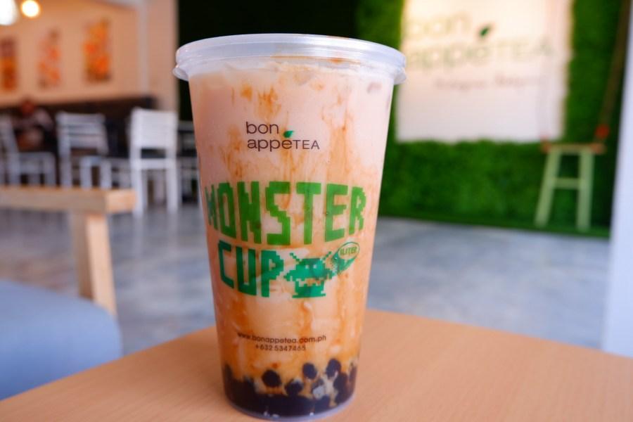 bonappetea milagrosa katipunan best selling nirvana milk tea