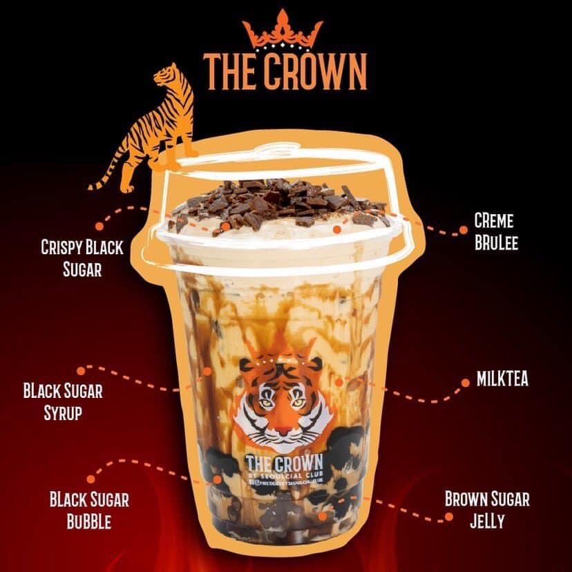 Fire Tiger The Crown Milk Tea