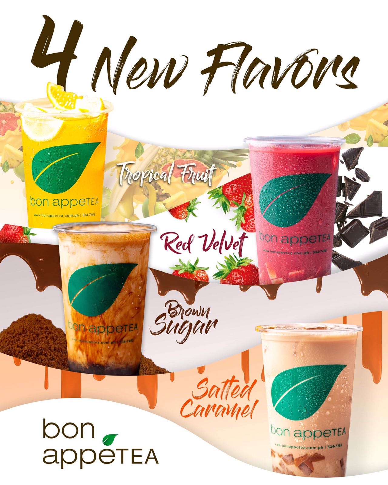 bon appetea best selling drinks