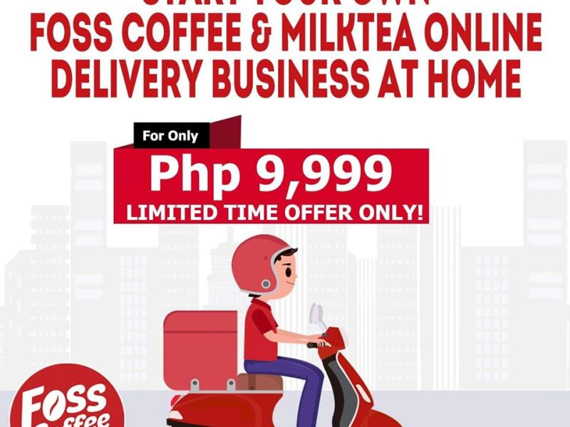 Foss Coffee Franchise for as low as 9999 pesos
