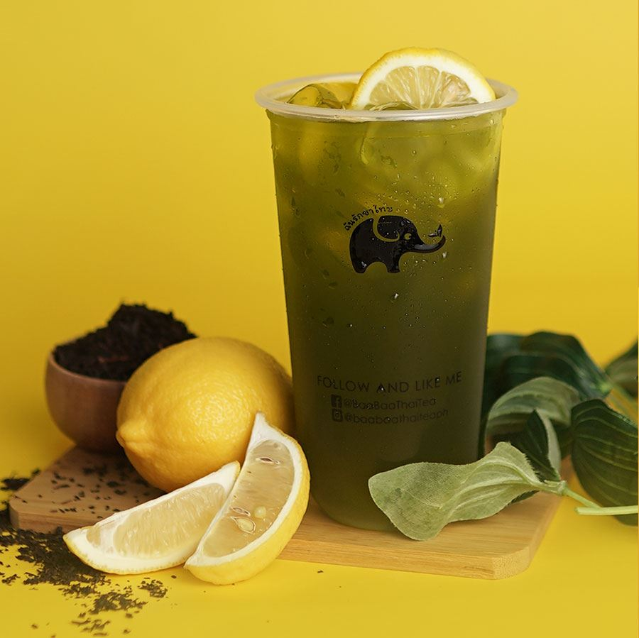 Baa Baa Thai Tea Best Seller Thai Green Iced Tea Cha Khiao Yen