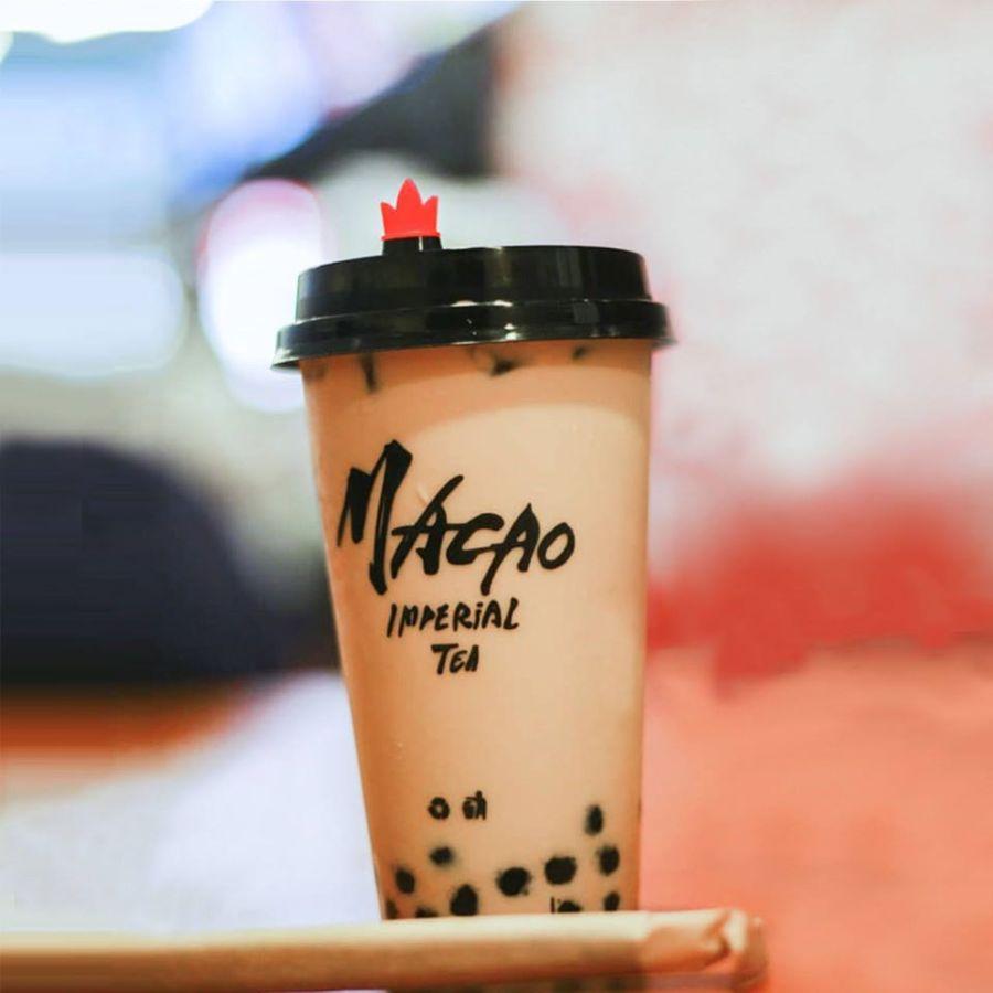 Macao Imperial Tea Black Pearl Milk Tea