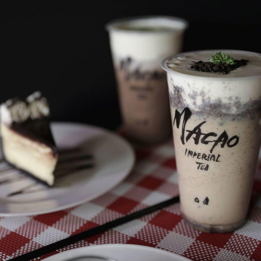 Macao Imperial Tea Cream Cheese Oreo Milk Tea