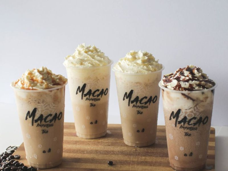 Macao Imperial Tea Frappuccino