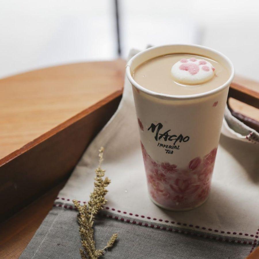 Macao Imperial Tea Kitten Milk Tea
